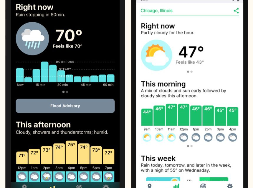 Best Apple iOS weather apps and widgets with multiple weather sources